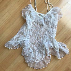 vintage lace nightie